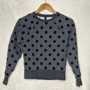 J. Crew Sweaters - J. Crew Textured Polka Dot Crew Neck Sweater